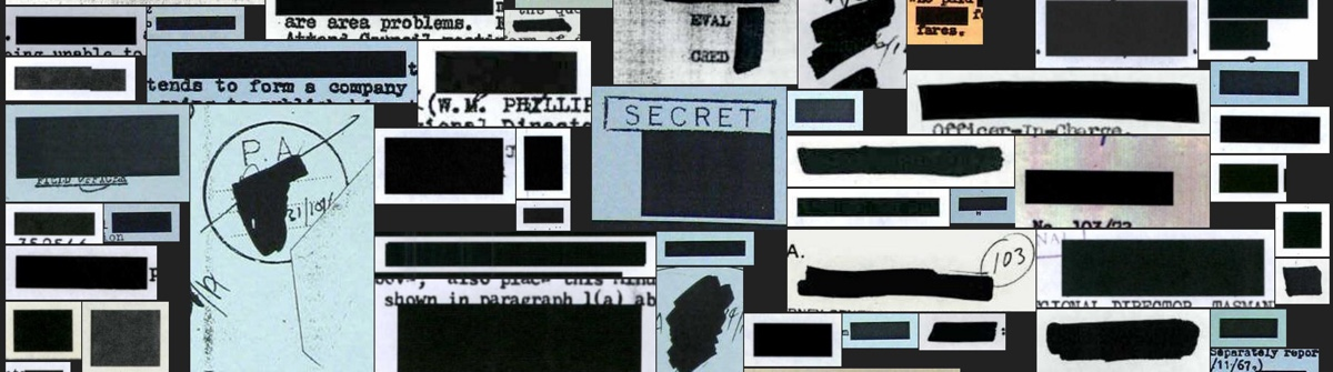 Redactions screenshot